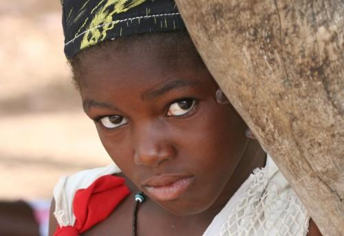 innocent uganda girl